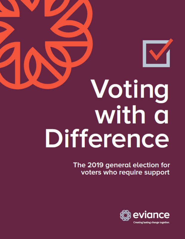 Cover of the Voting with a Difference document